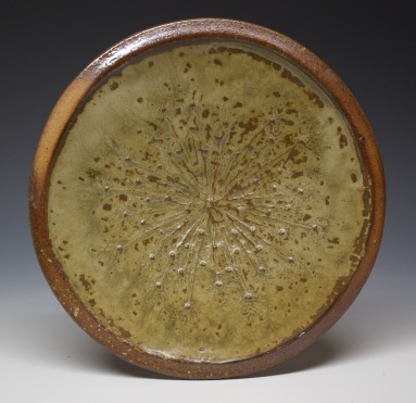136 Queen Anne's Lace plate
