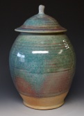 166 lidded jar