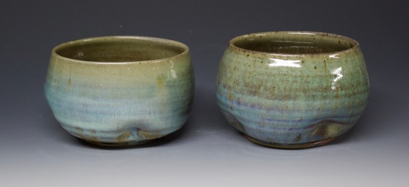 301A pair of holiday tumblers