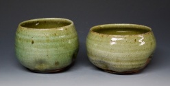 302A pair of holiday tumblers