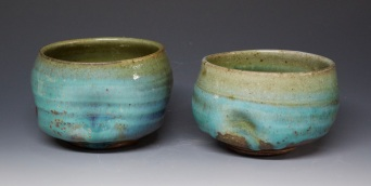 303A pair of holiday tumblers
